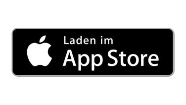 Das Bild zeigt ein Download-Icon zu einem App-Store. © Apple Fotograf: Apple