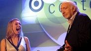 Ruth Moschner und Karl Dall moderieren den NDR Comedy Contest © NDR