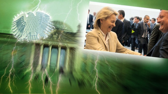 Neulich im Bundestag © NDR/dpa - Bildfunk Foto: Wolfgang Kumm