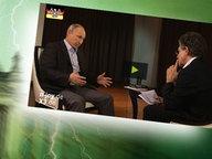 """Bildmontage: Putin beim Interview - gepaart mit dem Themenbild zu """"Neu im Bundestag"""". © NDR /  picture alliance / dpa / Fotograf: Screenshot"""