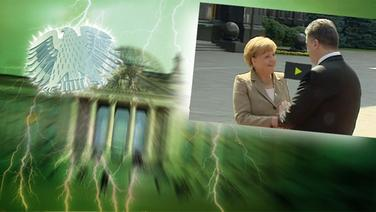 Screenshot aus dem Video Neulich im Bundestag (117) © picture alliance / Fotolia.com Fotograf: Adler: Fotolia.com / Fotograf: Roadrunner, Blitz: picture alliance / Okapia KG Fotograf: Nathalie Dautel, Reichstag: NDR / Fotograf: Christine Raczka