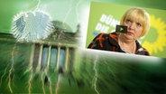 Claudia Roth, Parteivorsitzende Bündnis 90/Die Grünen © picture alliance / dpa Fotograf: Rainer Jensen