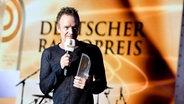 Sting beim Deutschen Radiopreis 2016. © NDR/Benjamin Hüllenkremer Foto: Benjamin Hüllenkremer
