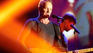 Sting beim Deutschen Radiopreis 2016. © NDR/Philipp Szyza Fotograf: Philipp Szyza