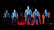 Die Backstreet Boys auf der Bühne. © picture-alliance / Sven Simon Foto: Sven Simon