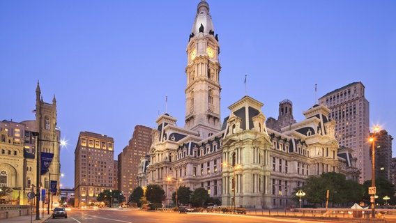 Philadelphia City Hall © picture alliance/Bildagentur-online