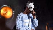 Cro auf der Bühne. © imago/Future Image Fotograf: Future Image