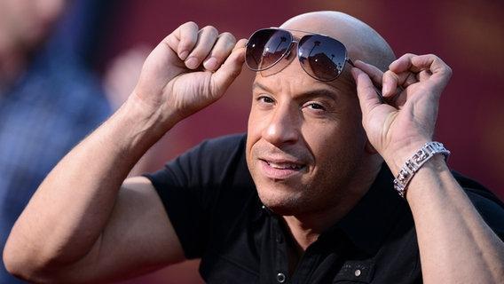 Vin Diesel Sonnenbrille Vin Diesel Steigt in Kein