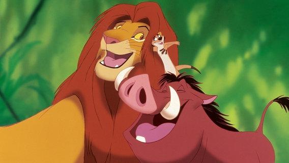 """Eine Szene aus """"Der König der Löwen"""". © picture-alliance / KPA Honorar & Belege Foto: Walt Disney"""