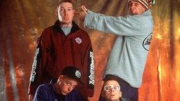 Die Fantastischen Vier in den 1990er Jahren © dpa
