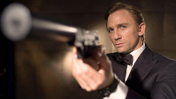 Daniel Craig in der Rolle des James Bond © dpa