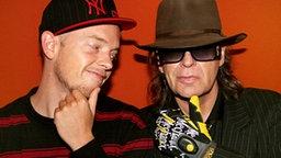 Jan Delay und Udo Lindenberg © 2008 Tina Acke