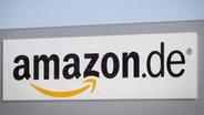 Das Bild zeigt das Firmenlogo von Amazon.  Fotograf: Sascha Ditscher