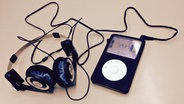 Ein alter iPod-Classic. © NDR/ Pascal Strehler Fotograf: Pascal Strehler