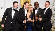 """""""12 Years A Slave"""" wurde als bester Film ausgezeichnet. © dpa Fotograf: Paul Buck"""
