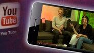 André Schürrle im Interview bei den Rocket Beans. © youtube/ Rocket Beans TV