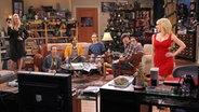 Der Hauptcast der Serie Big Bang Theory © landov Fotograf: MONTY BRINTON