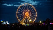 Riesenrad beim Deichbrand Festival 2019. © NDR/N-JOY Foto: Benjamin Hüllenkremer