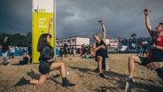 Impression vom Deichbrand Festival 2019. © NDR/N-JOY Foto: Benjamin Hüllenkremer