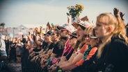 Madsen beim Deichbrand Festival 2019. © NDR/N-JOY Foto: Benjamin Hüllenkremer