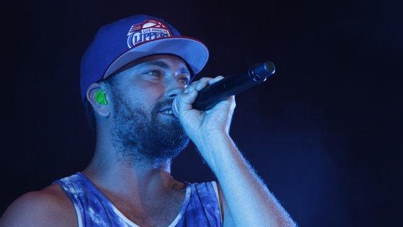Der Rapper Marteria beim Deichbrand Festival. © NDR/Fotografia Foto: Anfreas Kluge/Fotografie