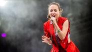 Alice Merton auf dem Hurricane Festival 2019. © N-JOY / NDR / Benjamin Hüllenkremer Foto: Benjamin Hüllenkremer