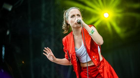 Alice Merton auf dem Hurricane Festival 2019.