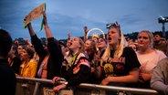 Die Band Bilderbuch beim Hurricane Festival 2019 in Scheeßel.  Foto: Benjamin Hüllenkremer