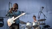 Die Band Bloc Party beim Hurricane Festival 2019.  Foto: Julian Rausche