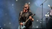 Die Band Foo Fighters bei ihrem Auftritt beim Hurricane Festival 2019 in Scheeßel.  Foto: Benjamin Hüllenkremer