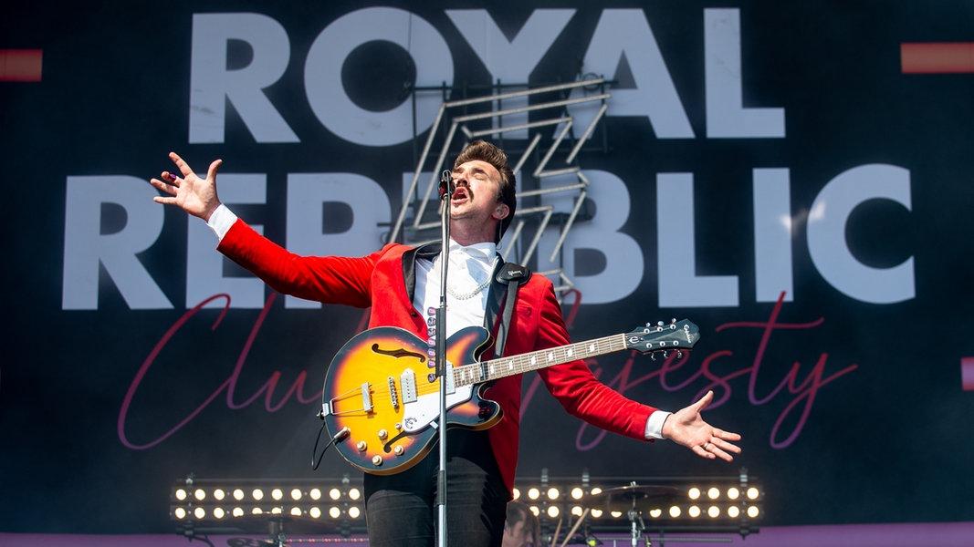 Royal Republic, Hamburg, 30. Juli
