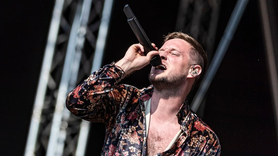 Teesy auf dem Hurricane Festival 2019.