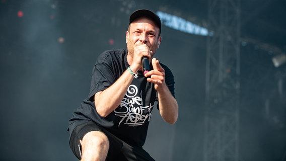 Die Band 257ers bei ihrem Auftritt beim Hurricane Festival 2019 in Scheeßel.