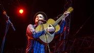 Wesley Schultz von The Lumineers während des Konzerts © NDR/Fotografirma Fotograf: Benjamin Hüllenkremer