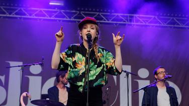 Leslie Clio auf der Bühne © NDR Fotograf: Nele Gülck