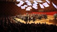 Die NDR Radiophilharmonie in Hannover im Großen Sendesaal. © NDR