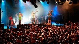 LaBrassBanda beim Reeperbahn Festival 2010 © NDR/fotografirma Foto: Philipp Szyza