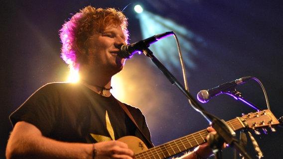 Ed Sheeran im Grünspan © NDR/fotografirma Foto: Marco Maas