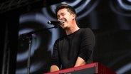 Nico Santos auf der Bühne. © picture alliance / radio tele nord Fotograf: Frank Dudek, rtn