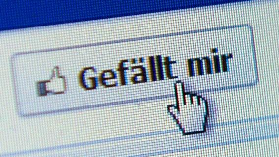 Facebook und der Like-Button © picture-alliance