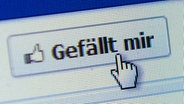 Facebook und der Like-Button © picture-alliance