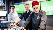 Fettes Brot im N-JOY Studio. © NDR / Jens Herrndorff Foto: Jens Herrndorff