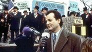 "Bill Murray in dem Film ""Täglich grüßt das Murmeltier"" © picture-alliance"