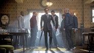 "Eine Filmszene aus ""Kingsman - The Secret Service"". © dpa Bildfunk"