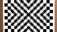Zu sehen ist eine optische Täuschung des japanischen Psychologie Professors Akiyoshi Kitaoka, die ein Schachbrettmuster zeigt. © imago / United Archives International Foto: United Archives International