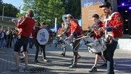 Die Hamburger Band Meute bei der Kieler Woche am 20.6.2017. © NDR Fotograf: Jenny von Gagern