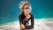 Die Apnoe-Taucherin Anna von Boetticher unter Wasser. © Daan Verhoeven Foto: Daan Verhoeven