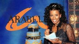 Die Talkerin Arabella Kiesbauer.  © Verwendung weltweit