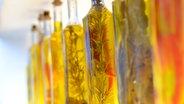 Das Bild zeigt verschiedene Kräuteröle © Martin Philpot, stocksnap.io