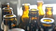 Mehrere leere Bierflaschen. © picture alliance Fotograf: Frank May